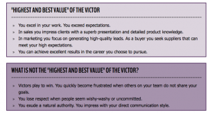 the victor: a leadership case study