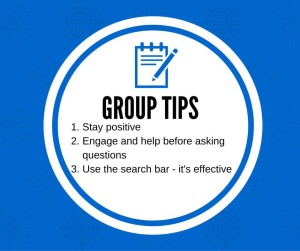 group tips for private FB group for school leaders