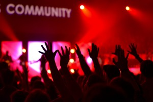 community is the only way to answer how do you find you blind spot