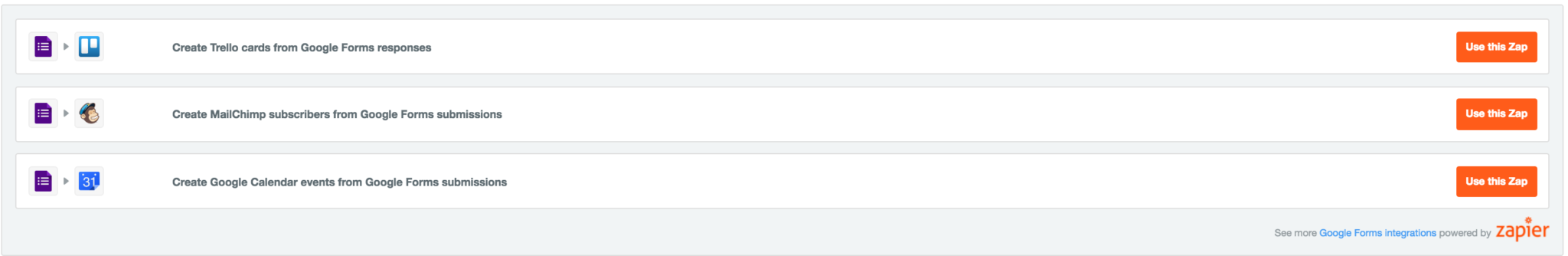 Google Spreadsheet Formulas Zapier II