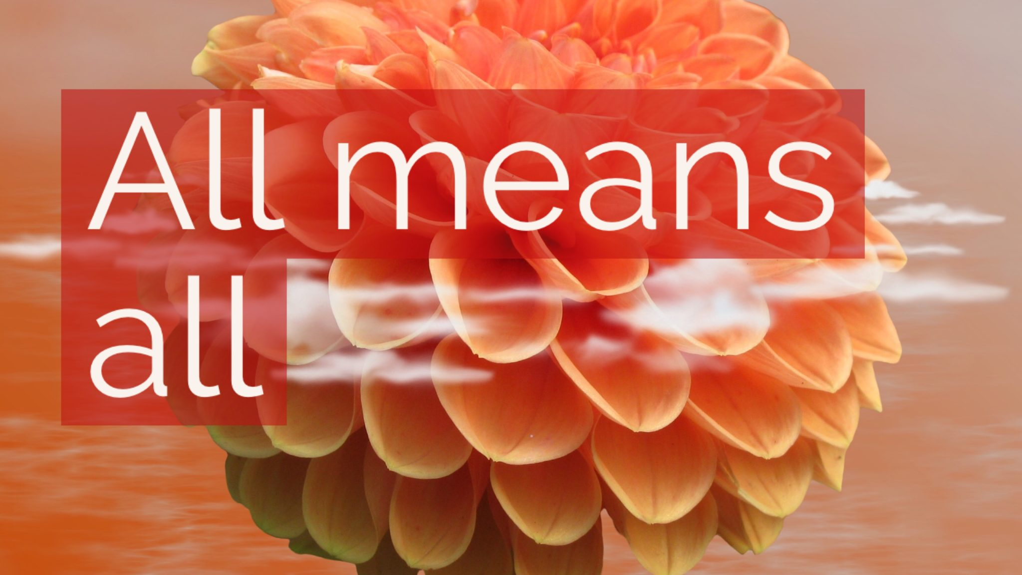 All means all with tom hierck