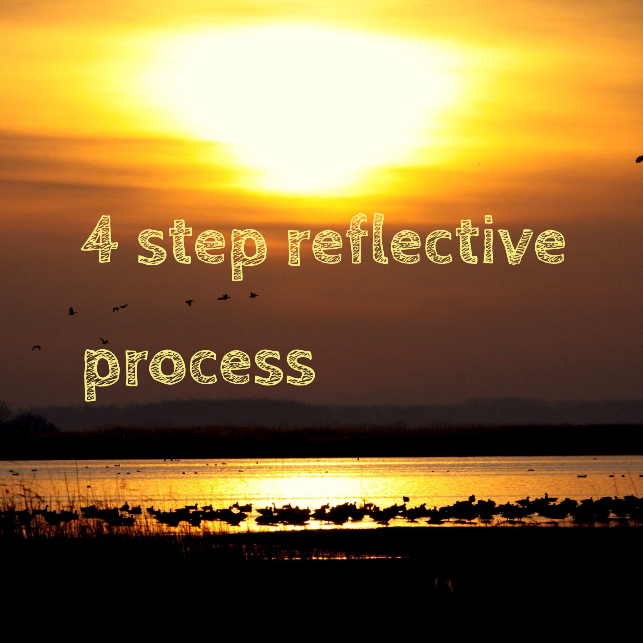 pete hall teaches us how to reflect