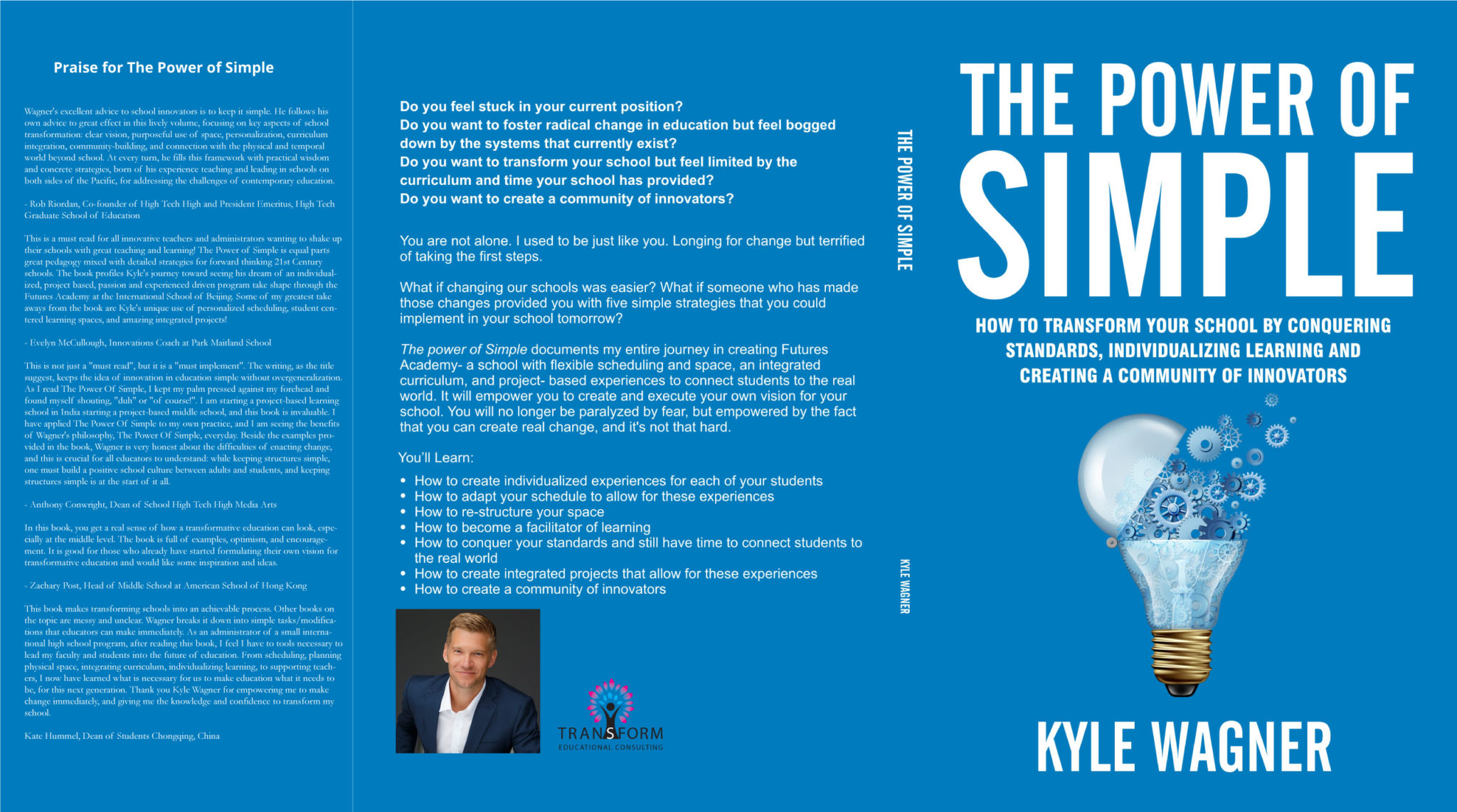 kyle wagner the power of simple book