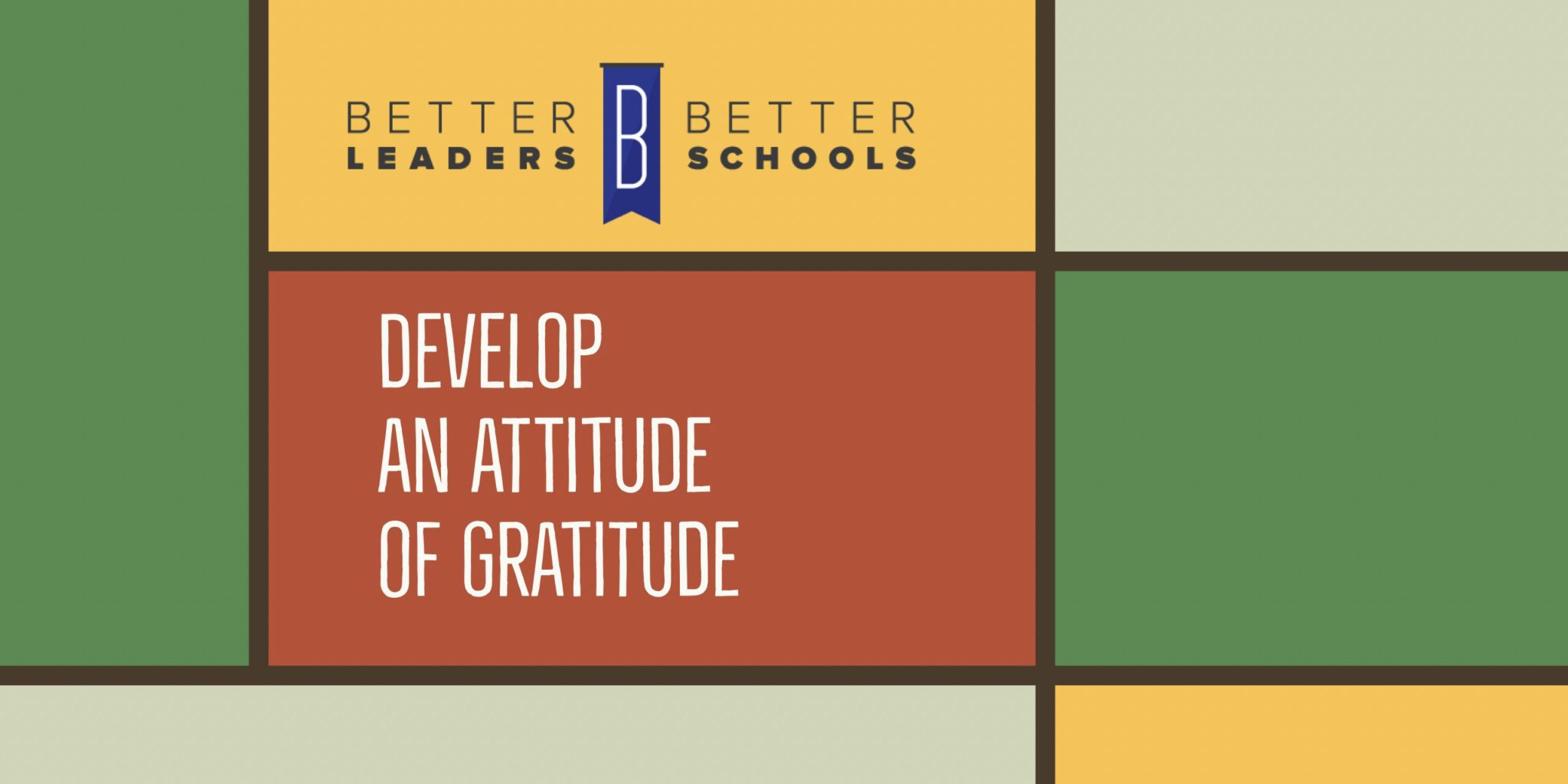 implement tactics to develop an attitude of gratitude