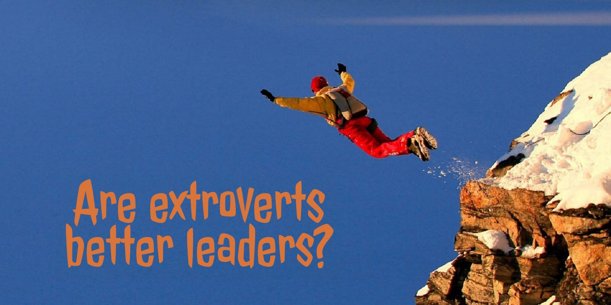 Eric Barker on extroverts