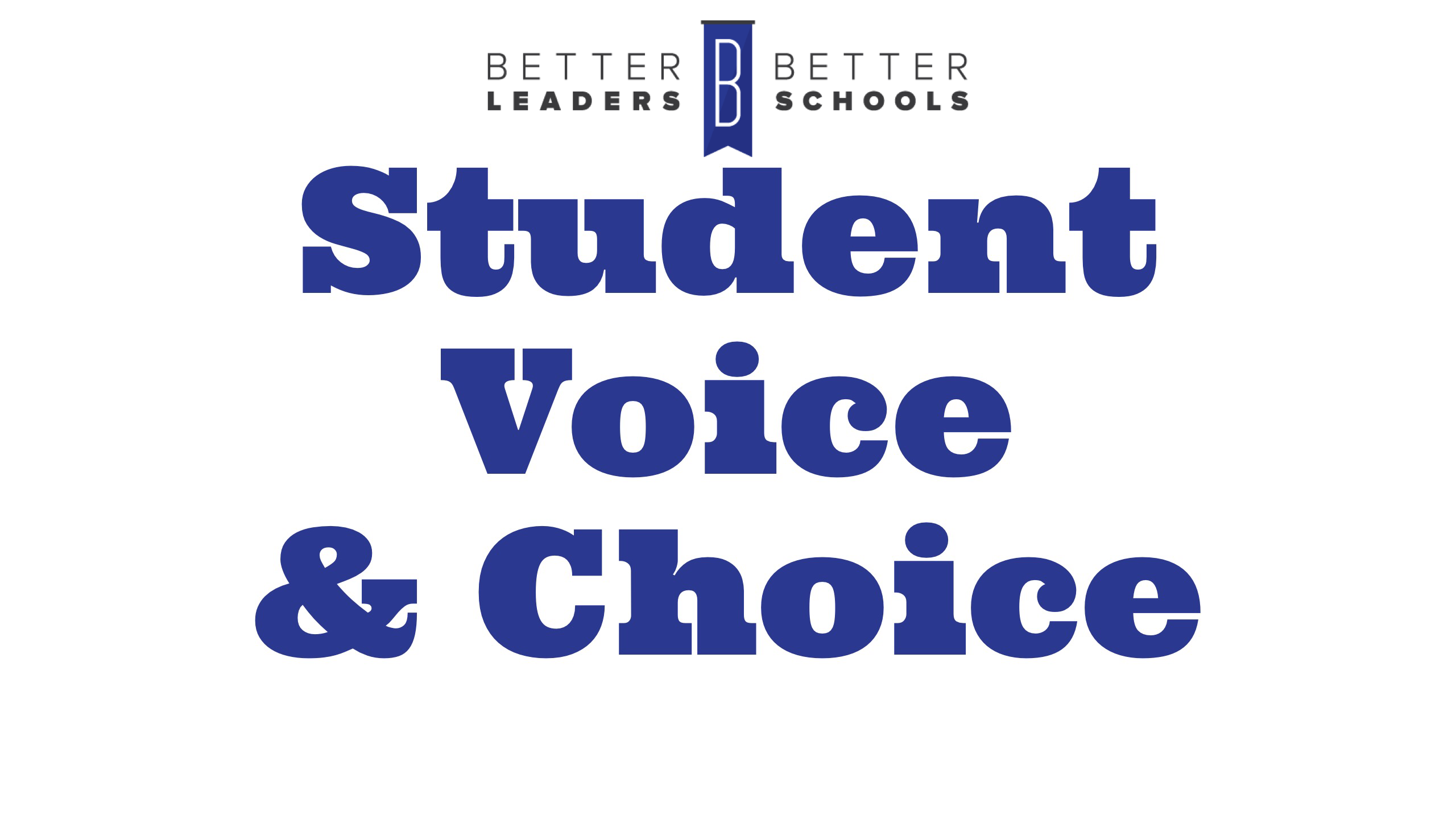 Bill Ziegler on student choice