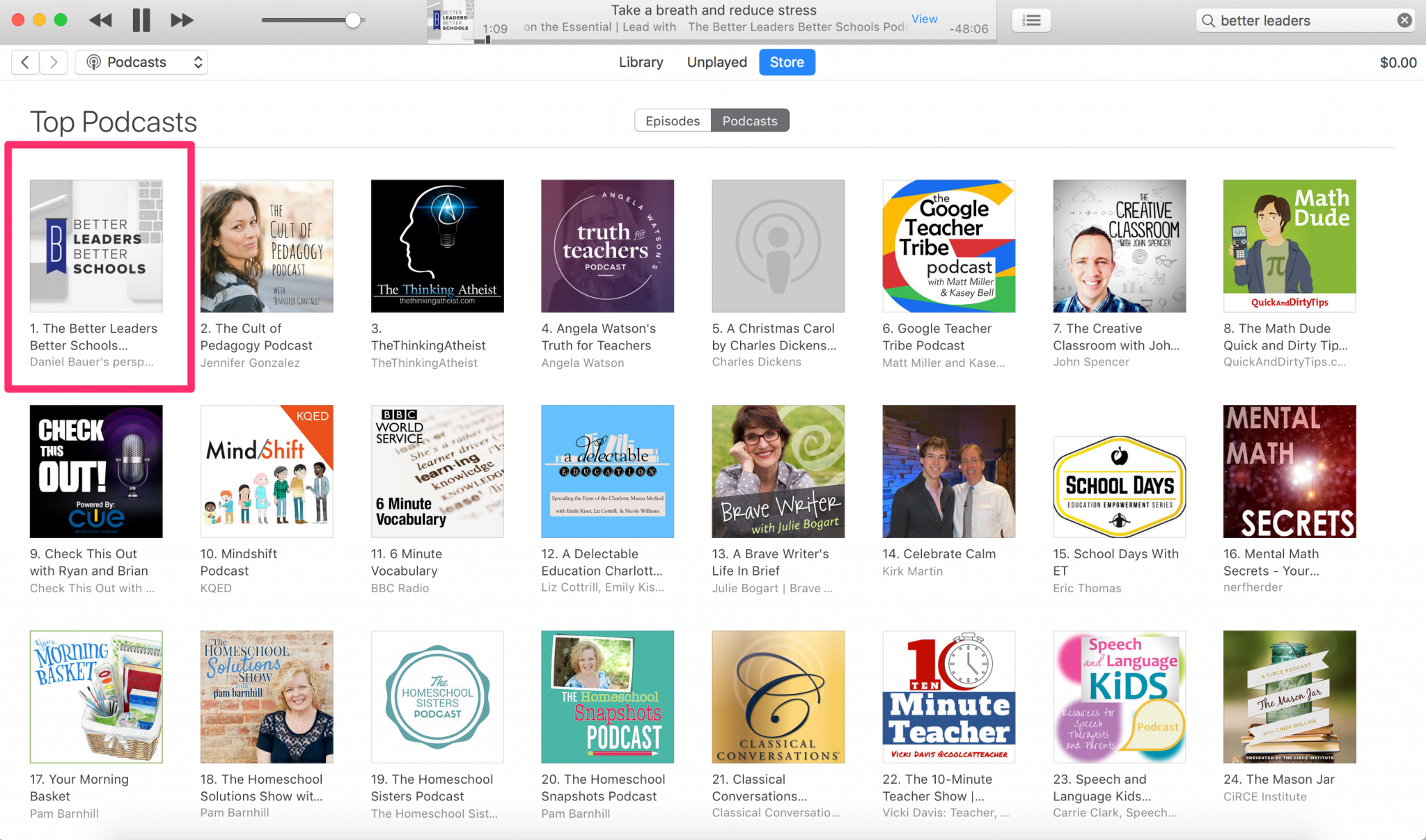 Better Leaders Better Schools is the best podcast for school leaders