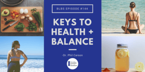 Phil Carson Health and Balance